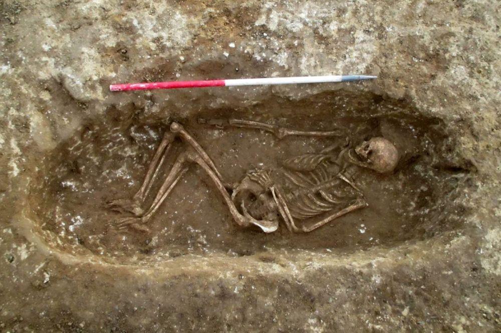 Anglo-Saxon-burial